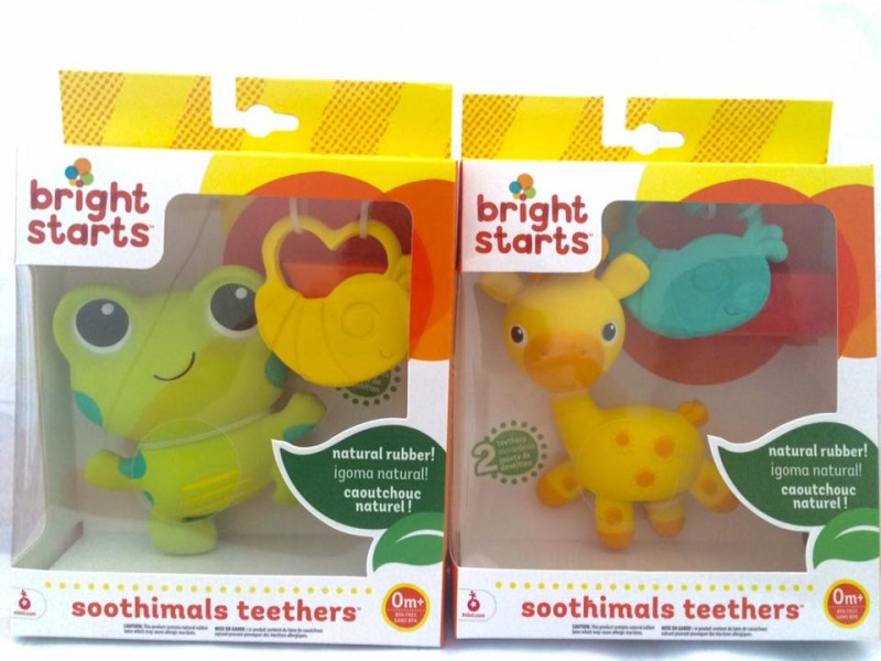 Bright Starts - Soothimals Teethers