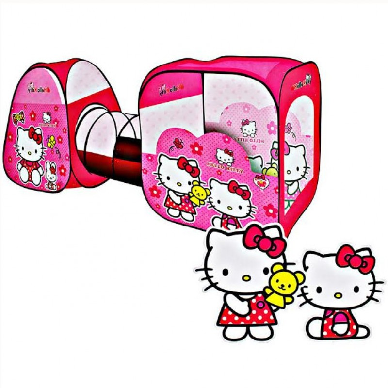 Tenda Terowongan - Hello Kitty