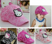 Hello Kitty Bordir Abjad Cap