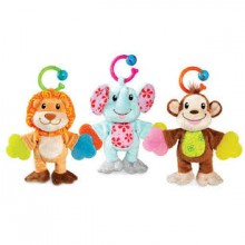 Rattle &Teether Doll Munchkin
