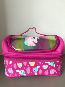 Smiggle Double Decker Lunchbox Unicorn